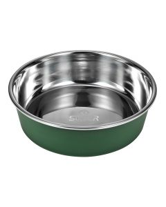 round dog bowl with PP base (large)